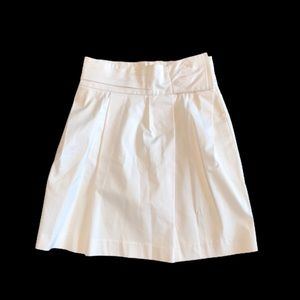 NWOT white Mexx fully lined cotton skirt size 2